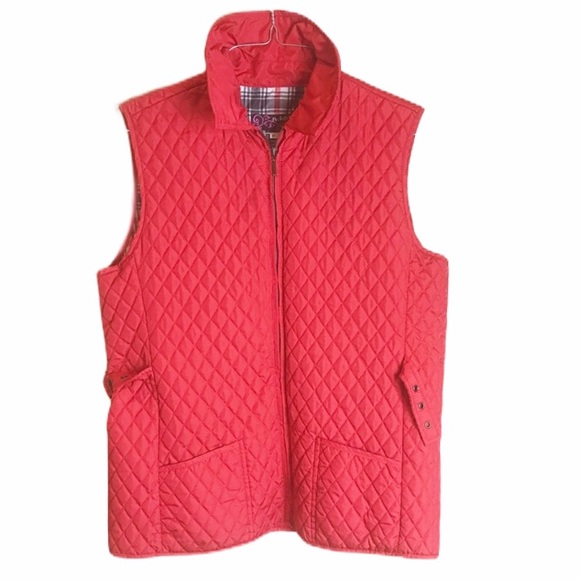 Peck & Peck Jackets & Blazers - Quilted vest xl